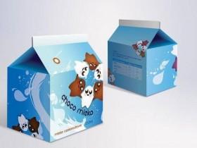 牛奶创意包装设计是如何准备及创意展现的